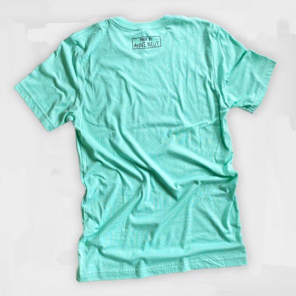 unisex shirt haha mijn leven