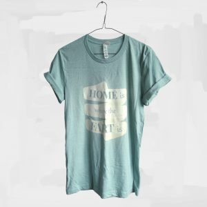 unisex shirt home is where the fart is